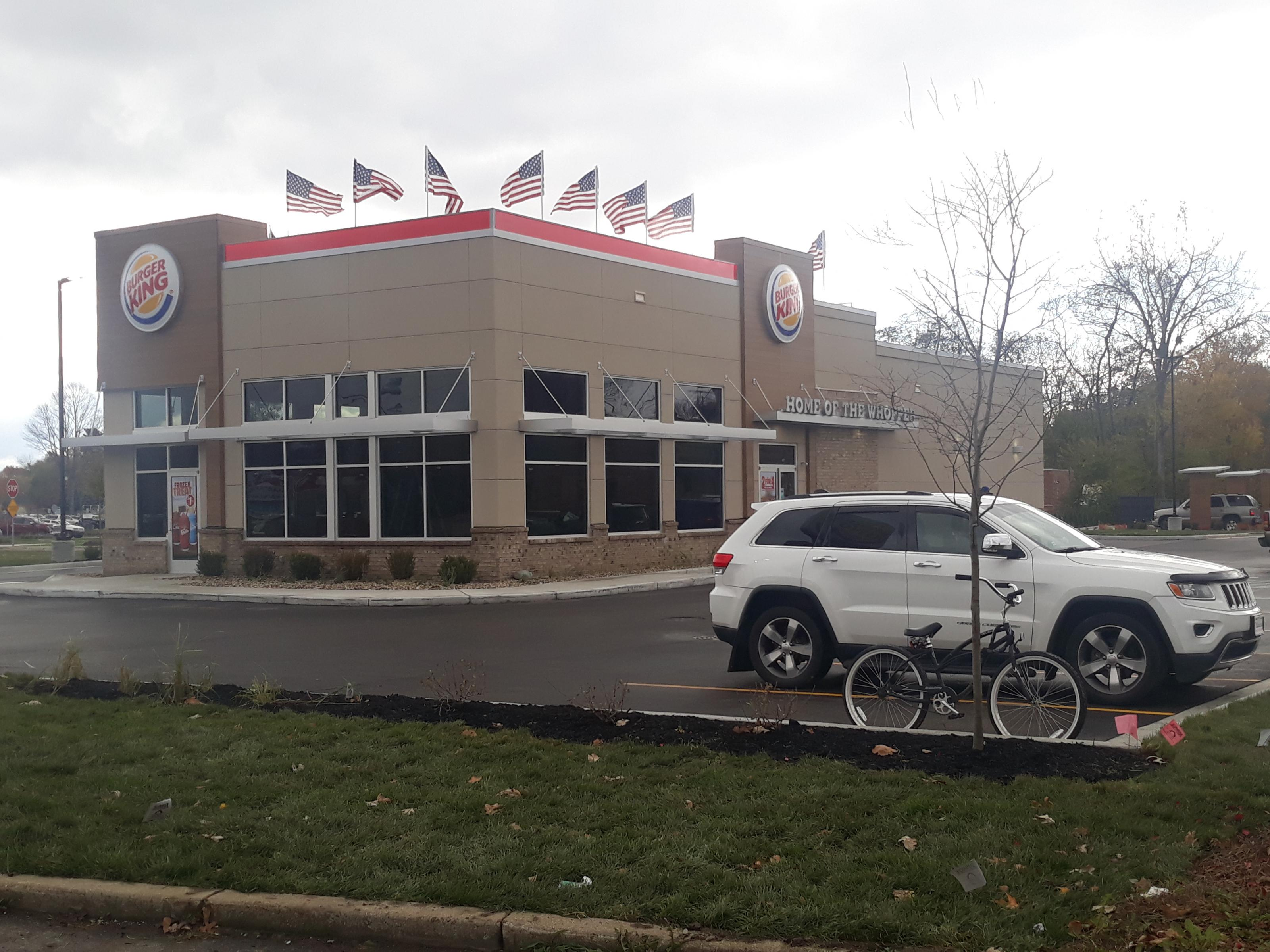 New Castle Opens for Burger King
